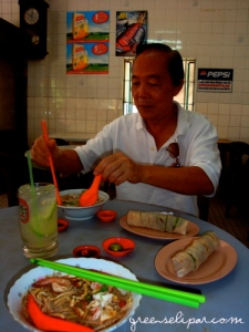 Fairview Sarawak Laksa with Eric