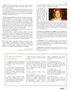 Greenselipar in SWEA june 2009 page 2